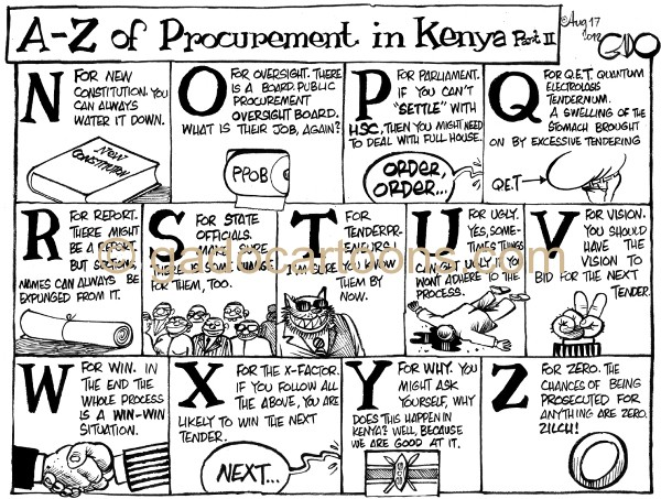 August 17 12 A-Z of Procurement II