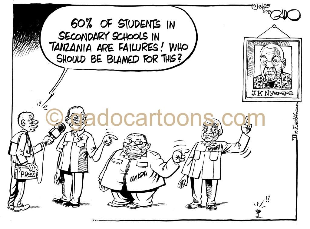 EA February 23 13 Falling education Standards in Tanzania
