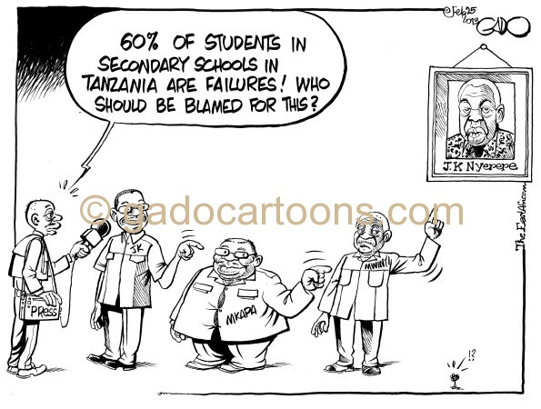 Falling education Standards in Tanzania