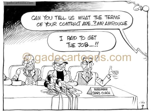 New Harambee Stars Coach