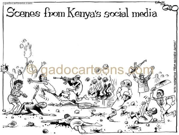 Scenes from Kenya's Social Media