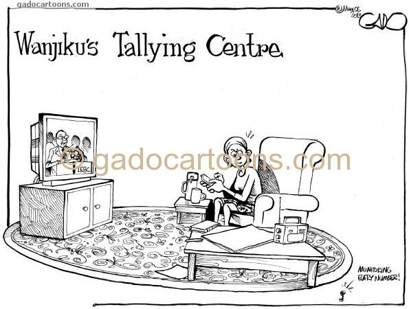 Wanjiku's Tallying Centre