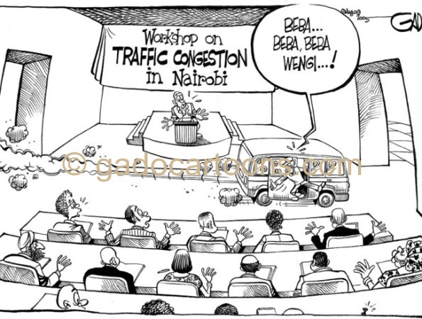 Workshop on traffic congestion in Nairobi