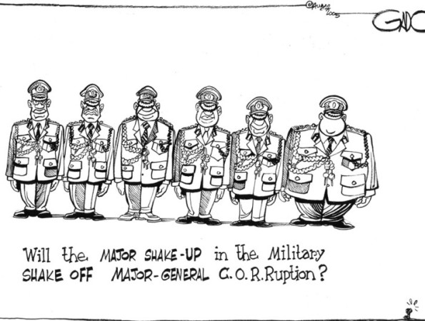 Will the major shake-up in the military