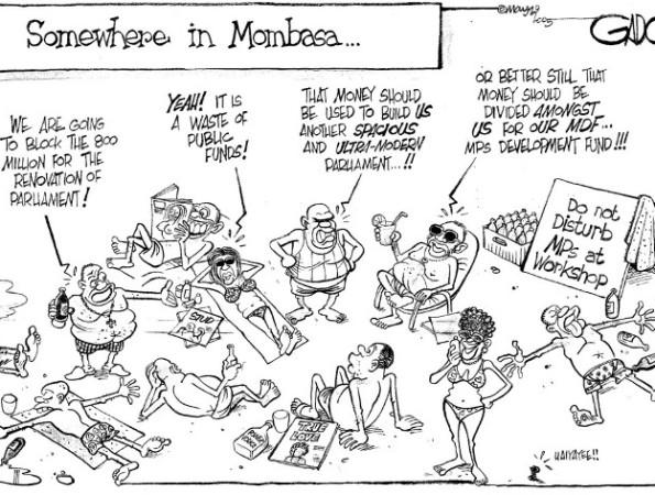 Somewhere in Mombasa