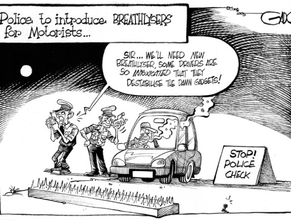 Police to introduce breathlysers for motorists