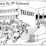 Opening of the 11th parliament