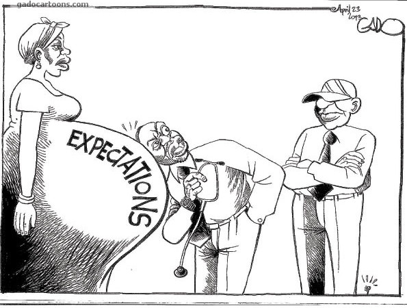 EXPECTATIONS…. #UhuRuto