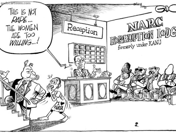 NARC Korruption lodge