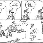 Suspects to surrender their guns, passports, properties