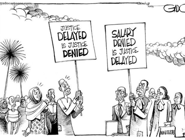 Salary denied is justice delayed