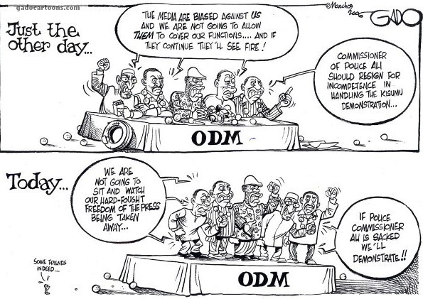 Some friends indeed – ODM
