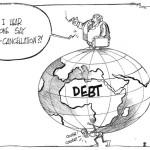 Did I hear someone say debt-cancellation?