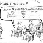 Another error in KCSE paper