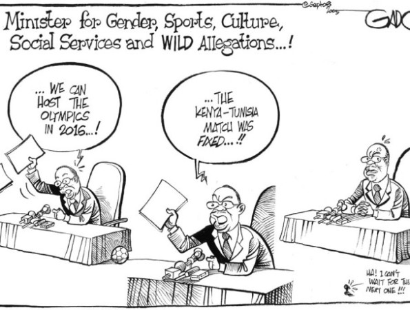 Minister for gender, sports, culture, social service and wild allegations