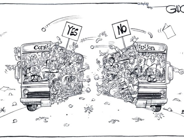 Constitution (Yes VS No)