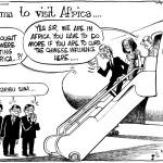 Obama Visits Africa