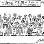 The Grand collusion cabinet