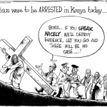 If Jesus were to be arrested in Kenya today