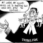 Tribalism Frankestein