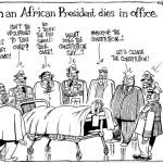 When an African President dies