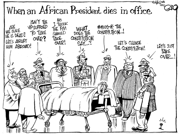 April 08 12 When an African President dies