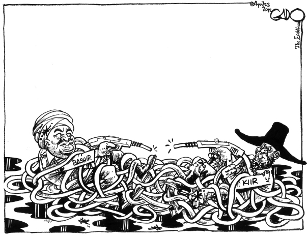 April 23 04 12 Oil Wars, South Vs North Sudan
