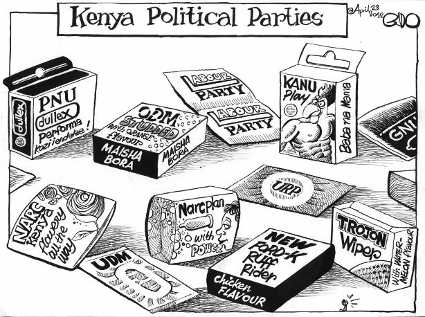 April 23 12 Kenya Political Parties