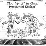 The run-off in Congo