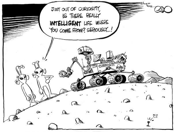 August 10 12 Curiosity in Mars