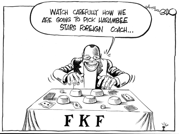 August 21 12 FKF to pick a Foreign Coach