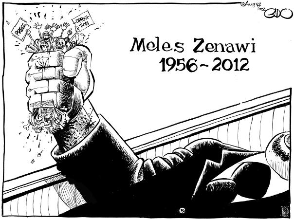August 22 12 Meles Zenawi RIP