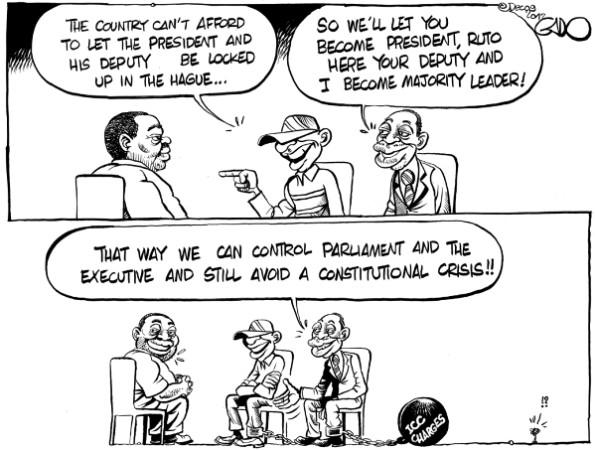Uhuru, Ruto and Mudavadi