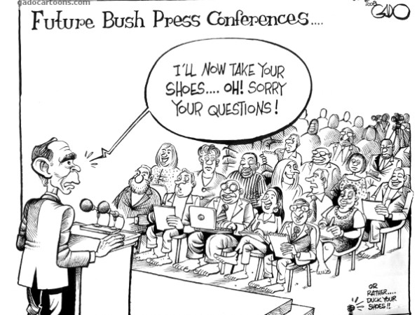 Future Bush Press Conference