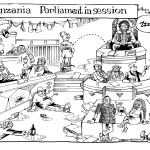 Tanzania parliament In Session