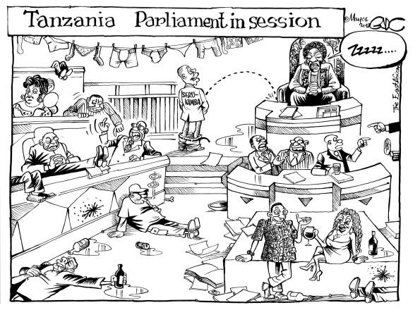 Tanzania parliament In Session