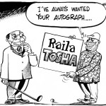I've always wanted your autograph