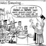 Museveni Swearing