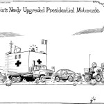 Nigeria's newly upgraded Presidential motorcade