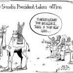 New Somalia President takes office
