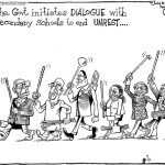 The government intiates dialogue with secondary schools to end unrest