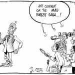Any comment on the Mau forest saga..