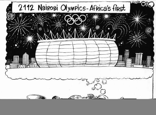 July 30 12 Nairobi Olympics - Africa's first