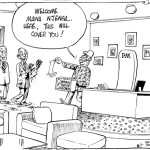 Raila and Maina Njenga