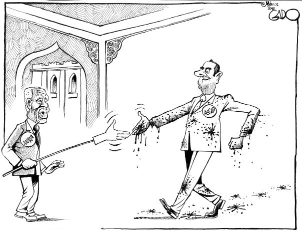 March 01 12 Annan meets Assad in Syria