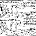 When an Americans and Afghans kills