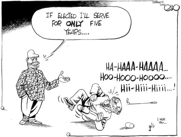 May 14 12 Raila to serve 1 term