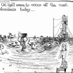 If an oil spill were to occur off the coast of Mombasa today..