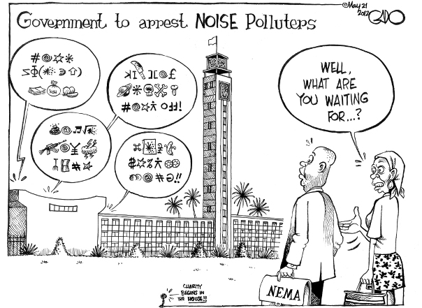 May 21 12 Neema to arrest Noise Polluters