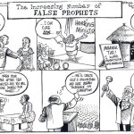 The increasing number of false prophets